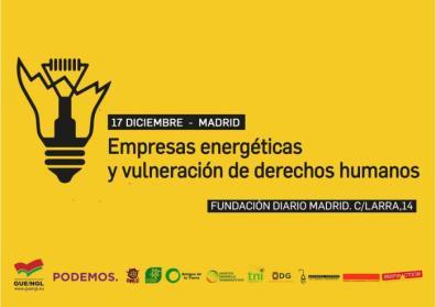 Empresas energéticas y vulneración de derechos humanos
